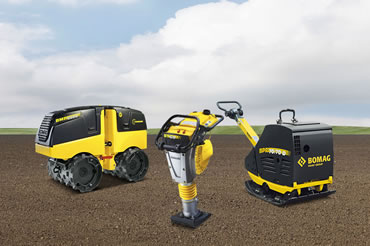 Light Equipment - Bomag