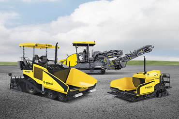 Pavers and Feeders - Bomag
