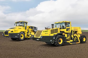 Recyclers and Stabilisers - Bomag